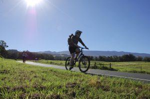 Cycling Halealakala