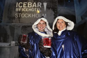The Icebar at Icehotel in Stockholm