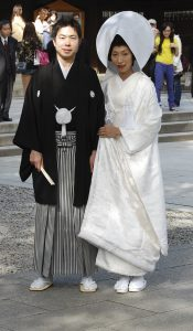 Bride and Groom in Japan