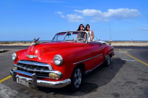 Cherry Red in Cuba